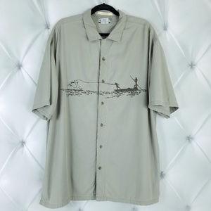 Columbia River Lodge XXL Casual Button Down Shirt
